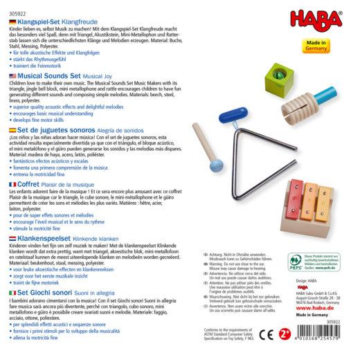 HABA Klangspielset Klangfreude 2