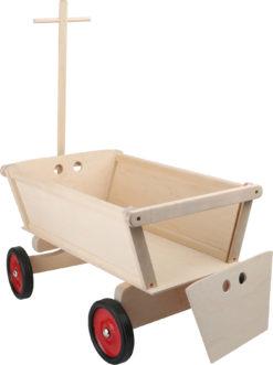 Ziehwagen für Kinder aus Holz
