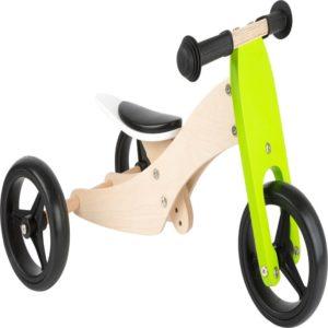 Dreirad Laufrad Trike grün