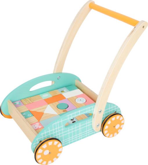Lauflernwagen pastell 1