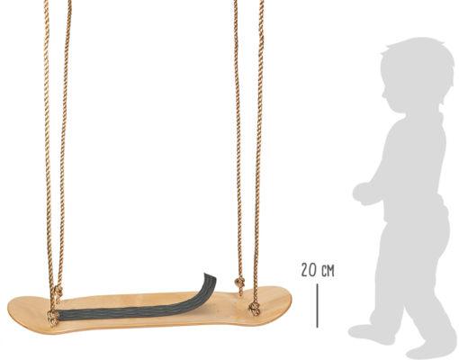 Skateboard Schaukel 2