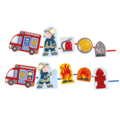 Fädelspiel Feuerwehr 7