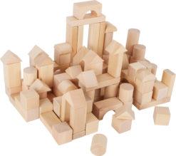 Holzbausteine natur 100 Stück