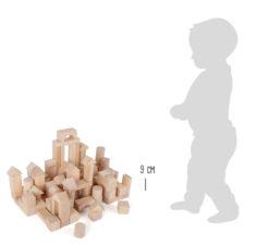 Holzbausteine natur im Beutel - 100 Stück 6