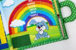 Piqipi Quiet Book - Interaktives Kinderbuch Häschen 5