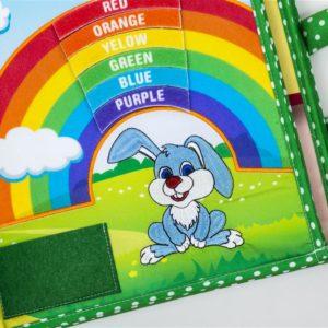 Piqipi Quiet Book - Interaktives Kinderbuch Häschen 2