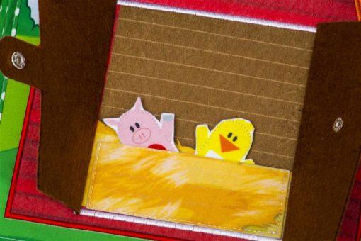 Piqipi Quiet Book - Interaktives Kinderbuch Häschen 3