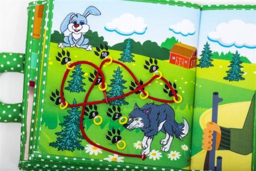 Piqipi Quiet Book - Interaktives Kinderbuch Häschen 4