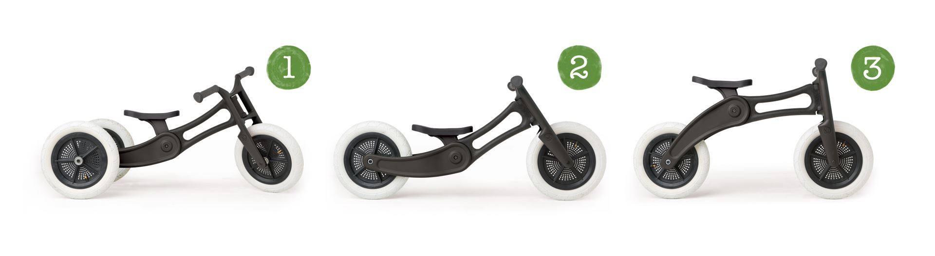 Wishbone Laufrad 3-in-1 RE 9