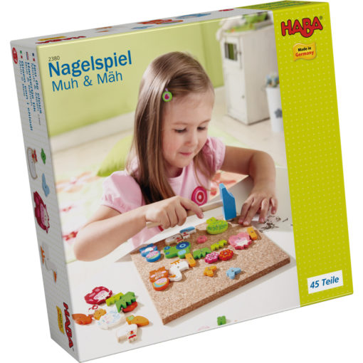 Haba Nagelspiel Muh & Mäh 2