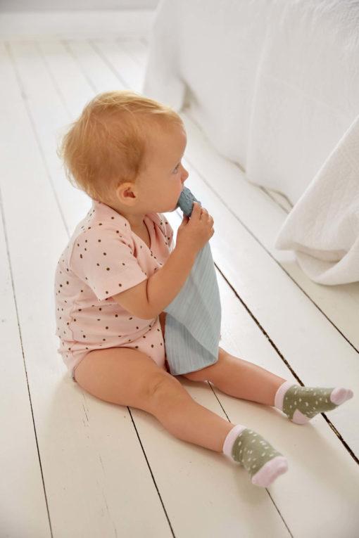 Lässig Schmusetuch mit Naturkautschuk Beißhilfe 5