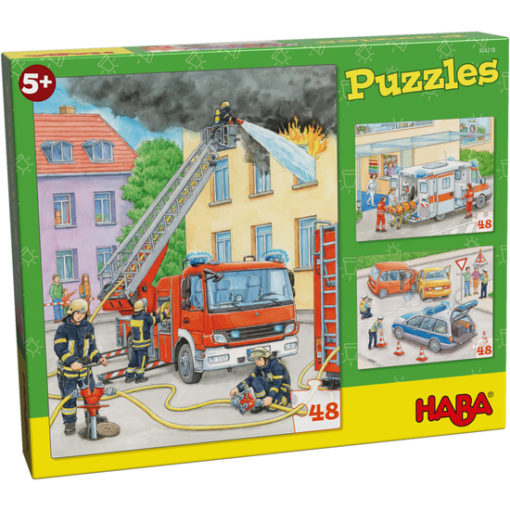 Haba Puzzle Einsatzfahrzeuge 1