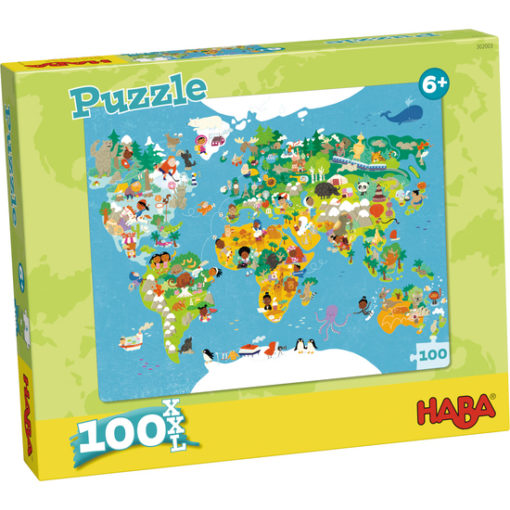 Haba Puzzle Weltkarte 1