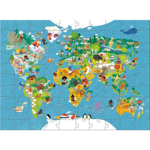 Haba Puzzle Weltkarte 2