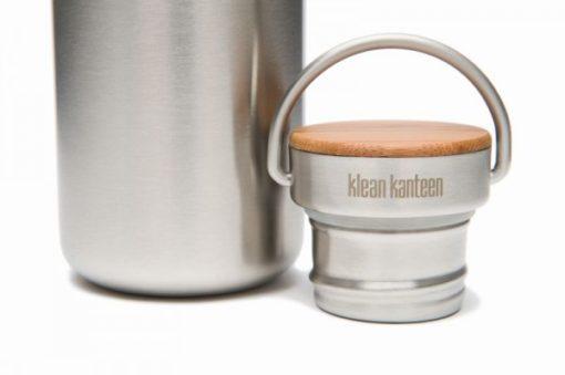 Klean Kanteen Edelstahl Trinkflasche Reflect 532ml Bambus-Schraubverschluss 4