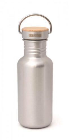 Klean Kanteen Edelstahl Trinkflasche Reflect 532ml Bambus-Schraubverschluss 5