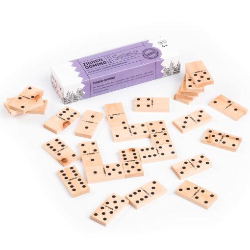 Zirben-Domino Edition Doppel 6er 1