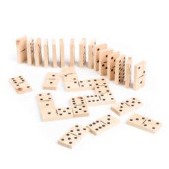 Zirben-Domino Edition Doppel 6er 3