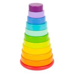 Stapelturm Regenbogen