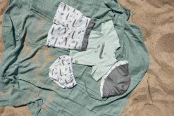 Lässig Board Shorts Crocodile White 8