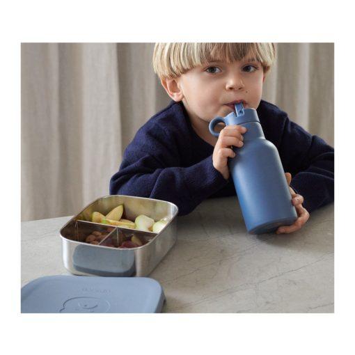 Liewood Joni Lunch Box Set Mr Bear Blue Wave/Rabbit Blue Wave Mix 2