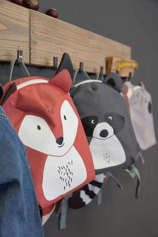 Lässig Kindergartenrucksack Waschbär 3