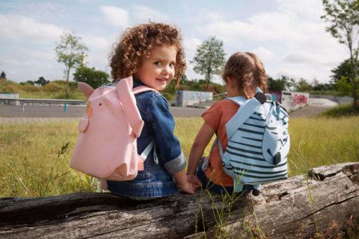 Lässig Kinderrucksack Schweinchen Bo 7