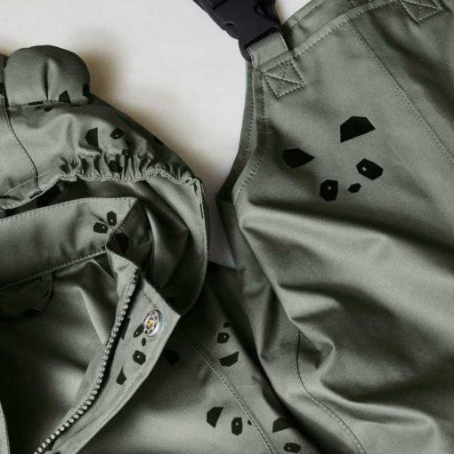 Liewood Regenbekleidung Dakota Mini - Panda faune Green 3