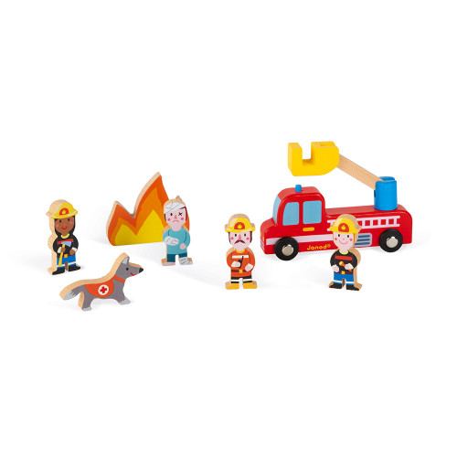 Janod Feuerwehr Mini-Set 1