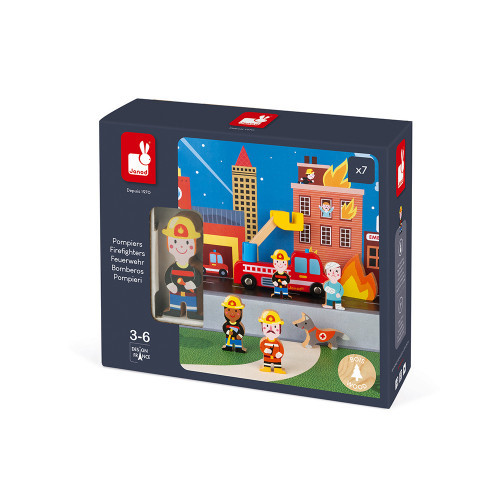 Janod Feuerwehr Mini-Set 3