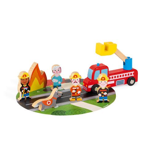 Janod Feuerwehr Mini-Set 2